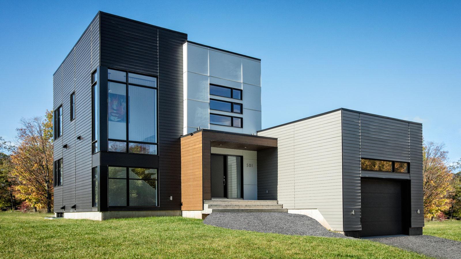 Zone c nous vous proposons le premier projet for Projet maison contemporaine