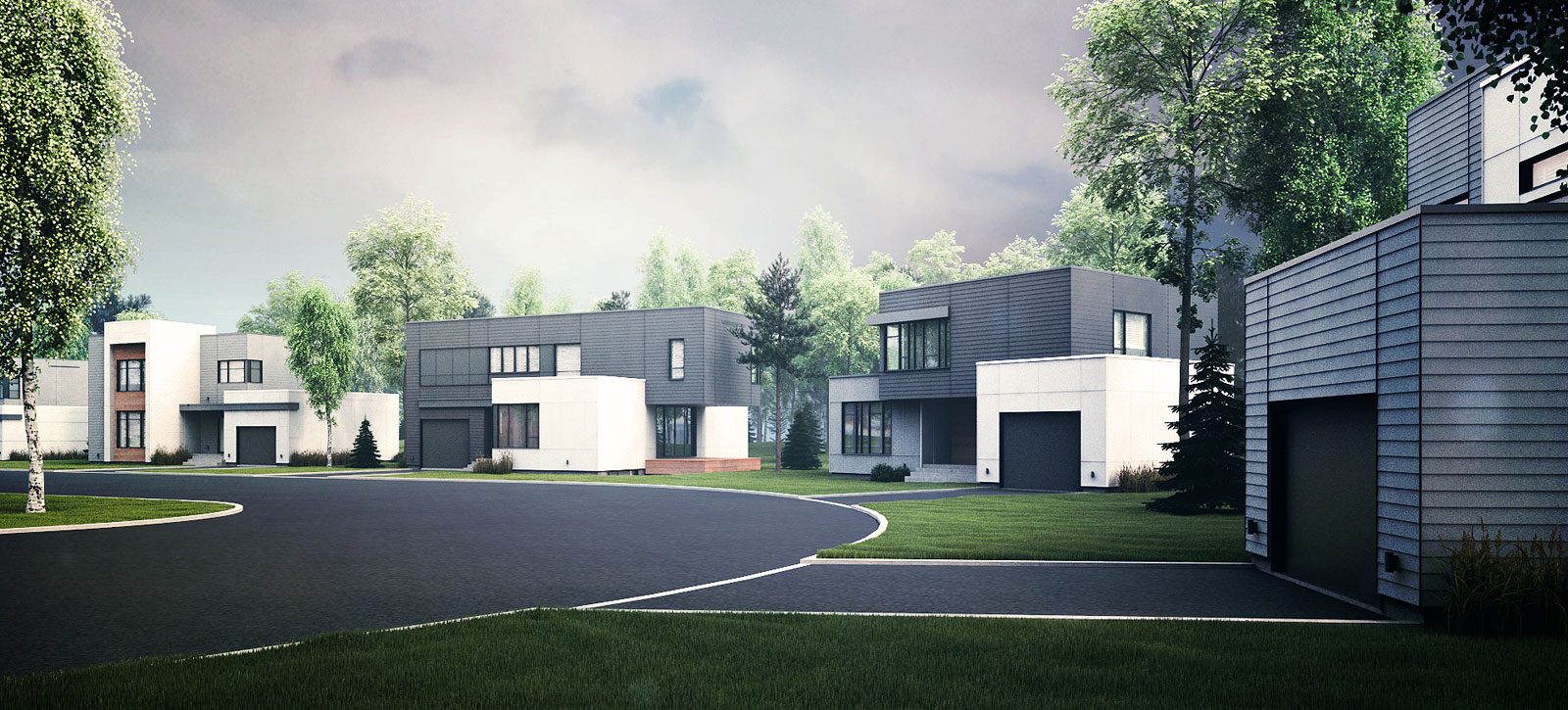 Zone C Nous Vous Proposons Le Premier Projet Veritablement Contemporain A Quebec Avec Architecture Contemporaine Et Modele Cubique